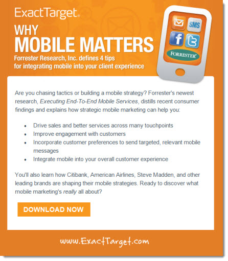 ExactTarget Email Campaign - The Point