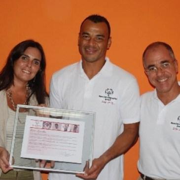 """Cafu e Rivelino também dizem """"sim"""" à Fundação Special Olympics Brasil"""