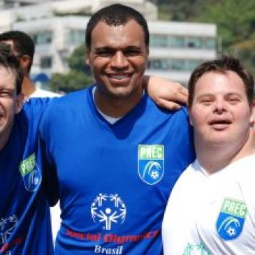 Denilson, embaixador da Special Olympics Brasil