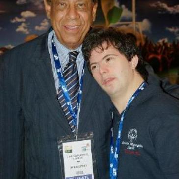 Embaixadores da Special Olympics Brasil marcam presença no primeiro dia da SOCCEREX GLOBAL CONVENTION