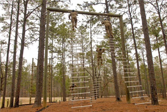 Nasty Nick Obstacle Course Navigate The Apparatus And