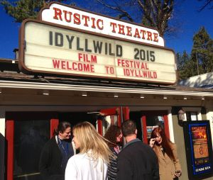 The Rustic Theatre is a venue for Idyllwild International Festival of Cinema. Photo: Julie Pendray.