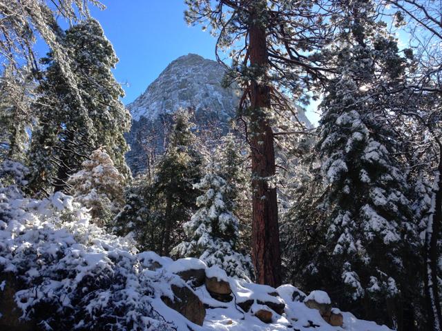Snowcapped Idyllwild Xmas 2014