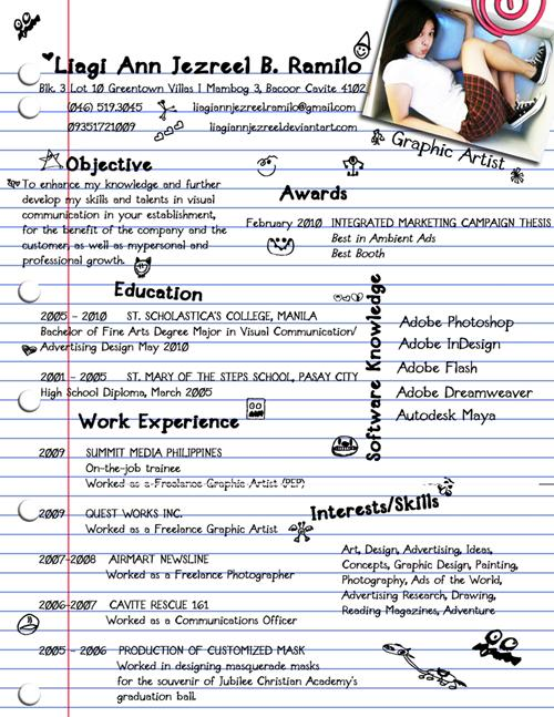 The 40 Most Creative Resume Designs Ever