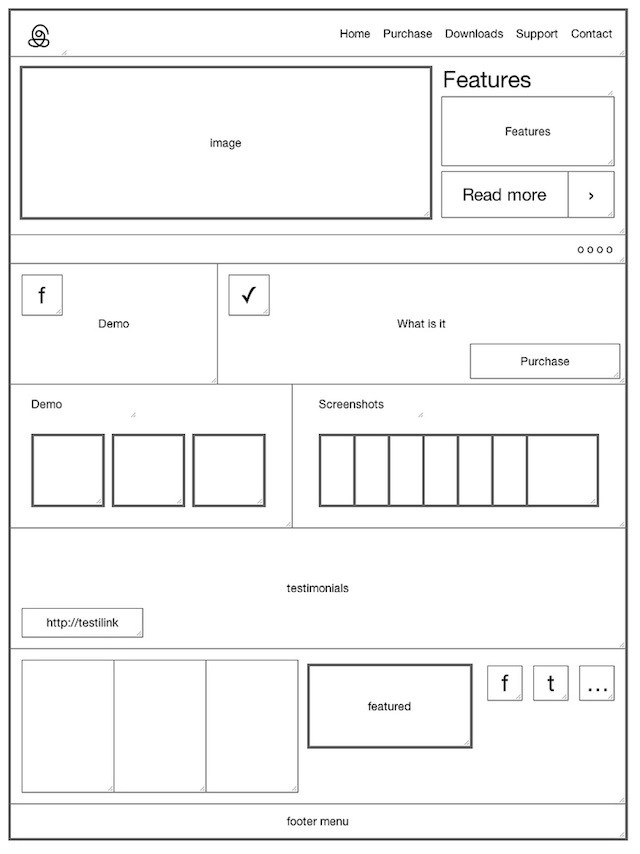 20 Examples of Web and Mobile Wireframe Sketches - sample resume for stay at home mom returning to work