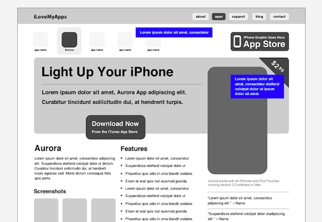 Adobe Fireworks Wireframing Resources and Tutorials