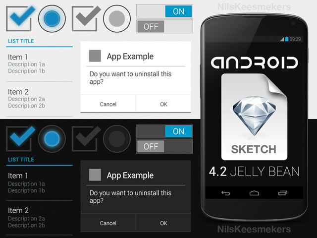 40 Free UI Kits and Templates for Sketchapp - Free App Template