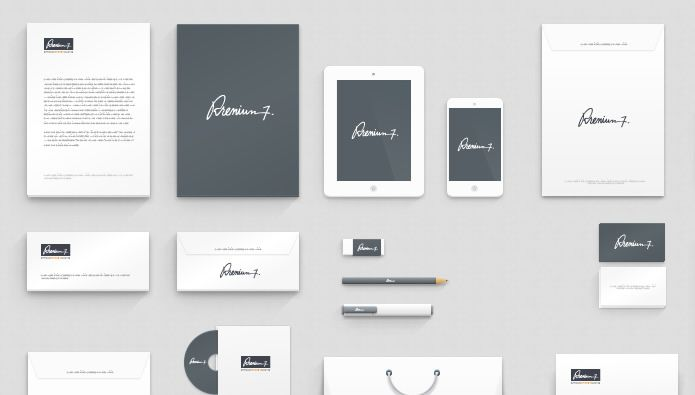 20 Free High-Resolution Corporate Identity  Branding Mockup Templates