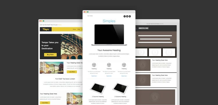 free email templates builder