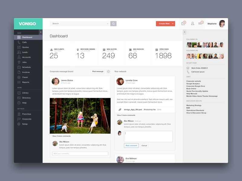 20 Examples of Beautifully Designed Admin Dashboards - dashboard design inspiration
