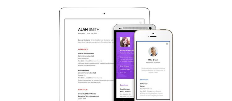 8 Tools  Apps for Designing Resumes - Designing A Resume