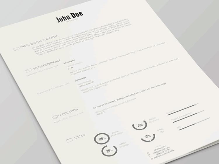 envato free resume templates