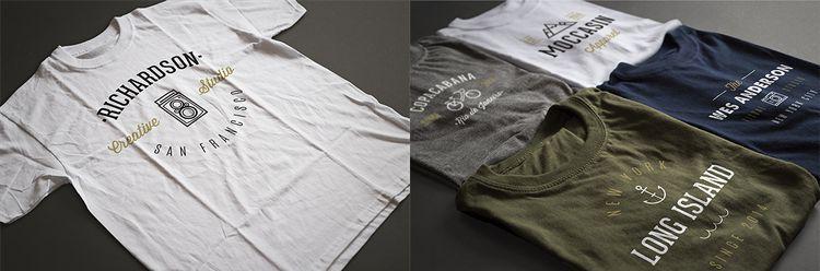 15 Free High-Resolution T-Shirt Mockup Templates