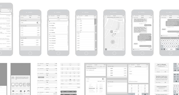 50 Free Wireframe Templates for Mobile, Web and UX Design - wireframe templates
