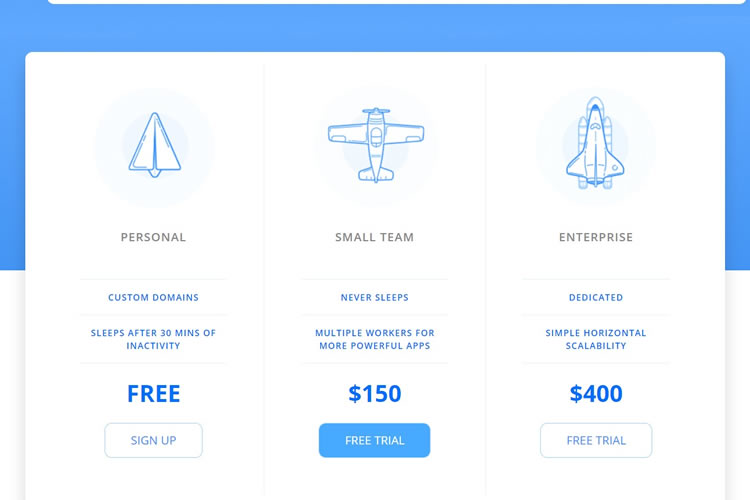 10 Free Responsive Pricing Table HTML  CSS Snippets