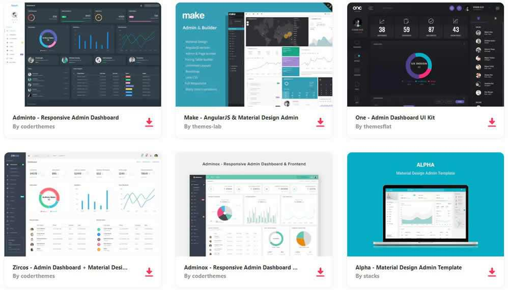 20 Free Bootstrap Admin  Dashboard Templates 2018 - bootstrap admin template