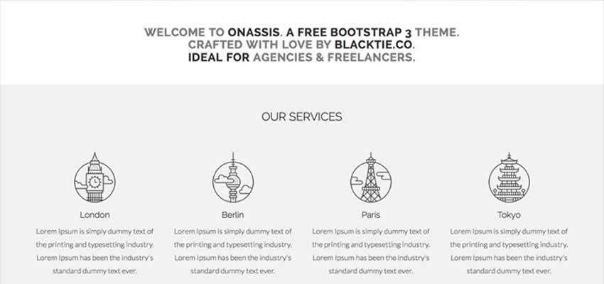 50 Free Bootstrap Web Templates  Themes for 2019