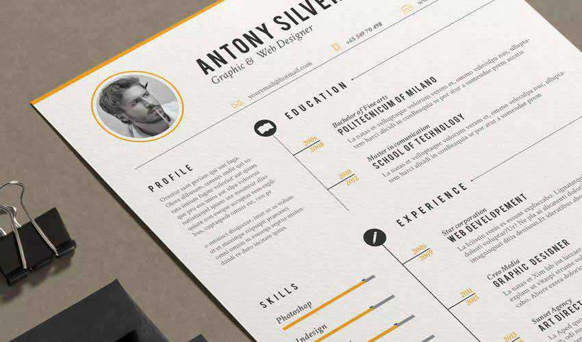 adobe indesign free resume templates