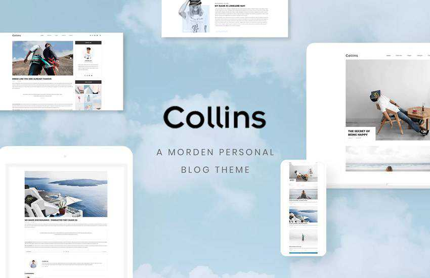 10 Free Personal Blog  Magazine Layout PSD Web Templates