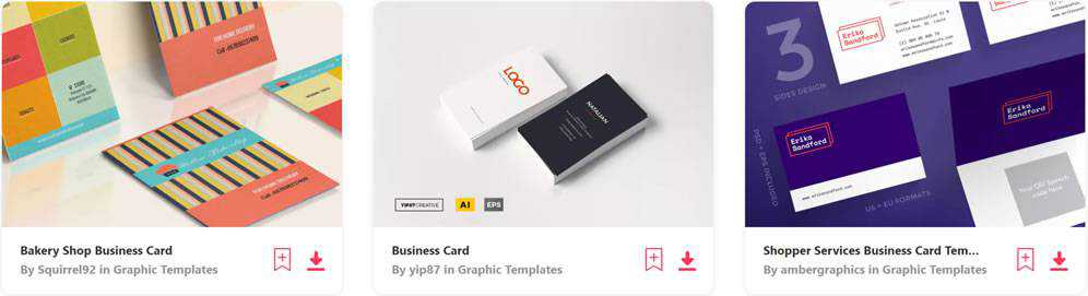 30 Free Modern Business Card Templates