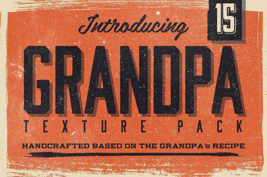 20 Free High-Quality Vintage, Antique  Retro Texture Packs