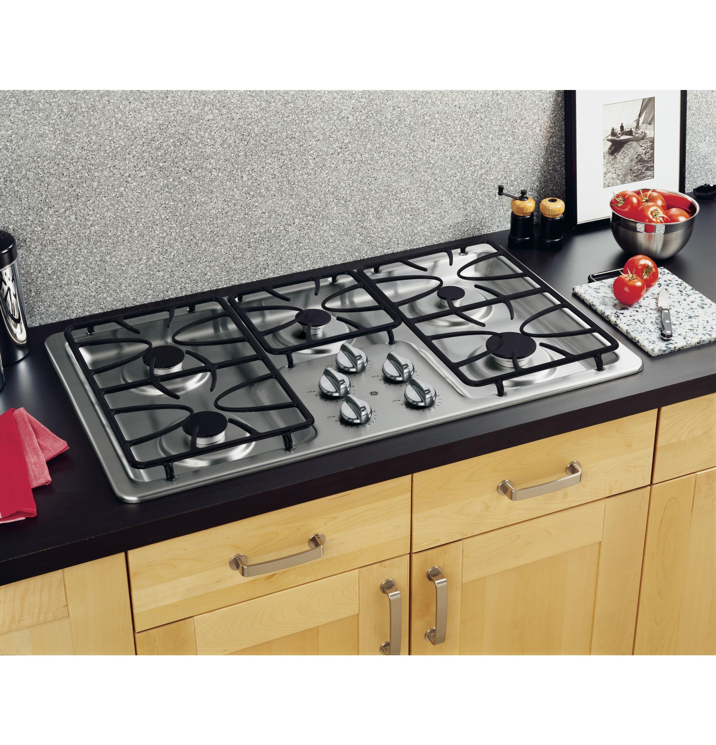 Cooktop Gas Stoves Jgp633setss General Electric