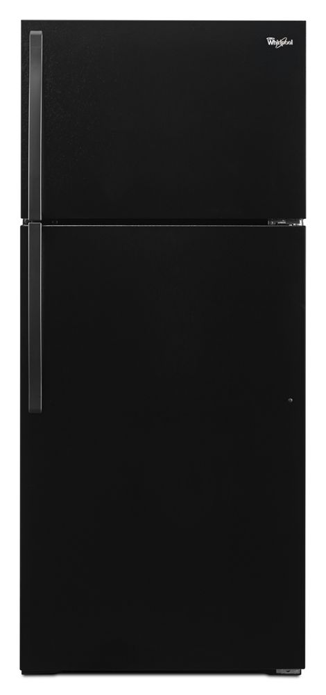 14 Cu Ft Refrigerator Wrt134tfdb In Black By Whirlpool In Largo Fl 28 Inch Wide Top