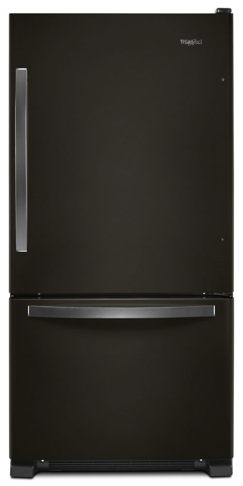 Black Freezer Wrb322dmhv In Black Stainless By Whirlpool In Albuquerque Nm 33