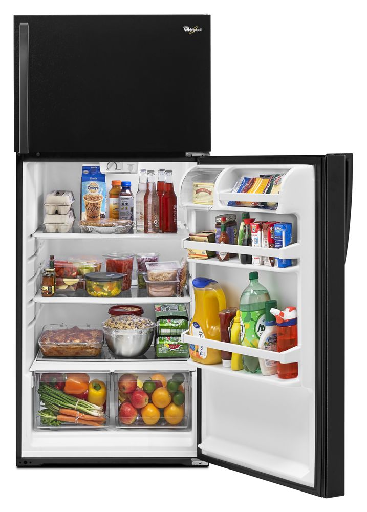 14 Cu Ft Refrigerator Wrt314tfdb In Black By Whirlpool In Glenside Pa 28 Inch Wide