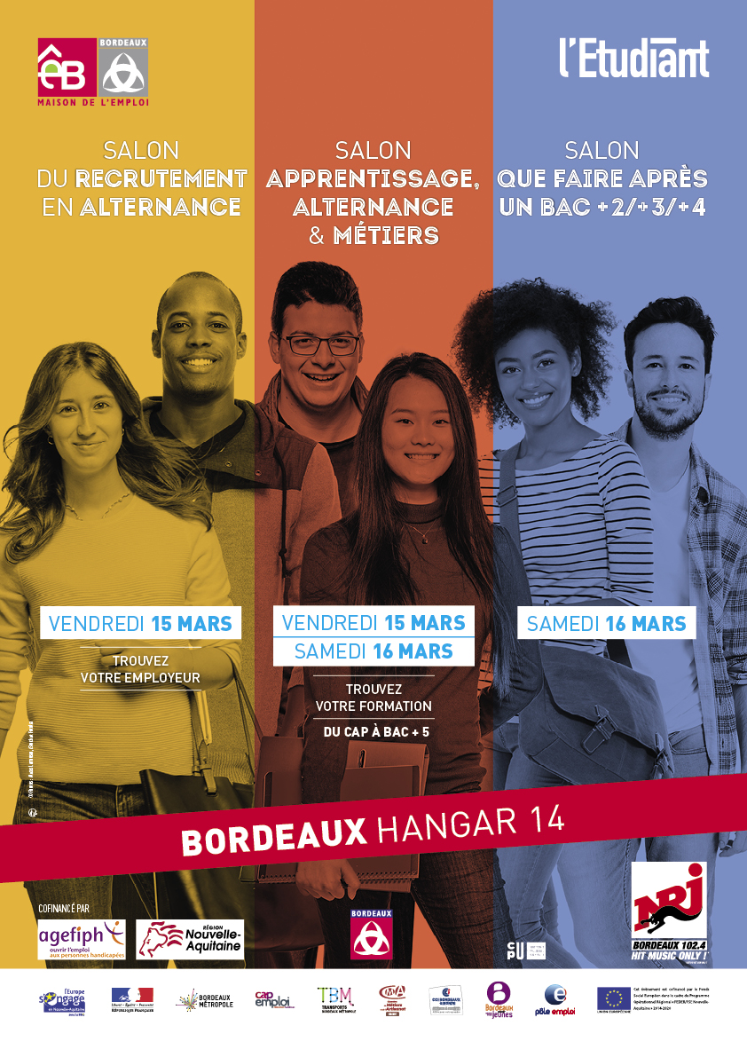 Salon Alternance Bordeaux 3 Salons à Bordeaux Bordeaux 33000 Ven 15 Mars 19 Et Sam