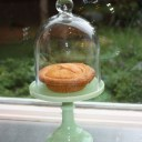 AN ELEGANT DOMED MINI PIE STAND