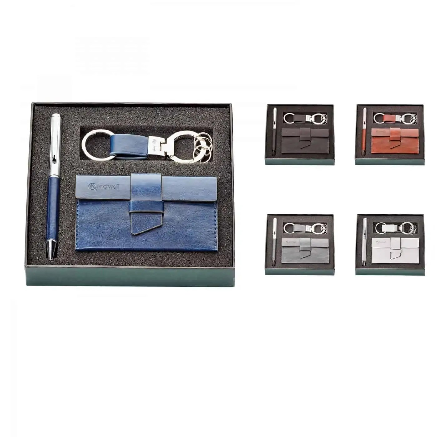 Pen And Holder Set Pen Key Ring And Card Holder Gift Set Spector Gifts