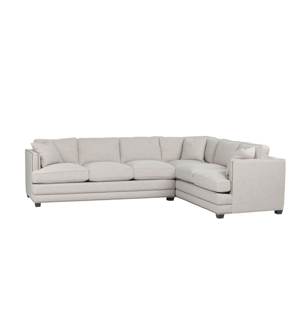 Furniture Markham Markham Sectional Milford Wheat Spectra Home Furniture