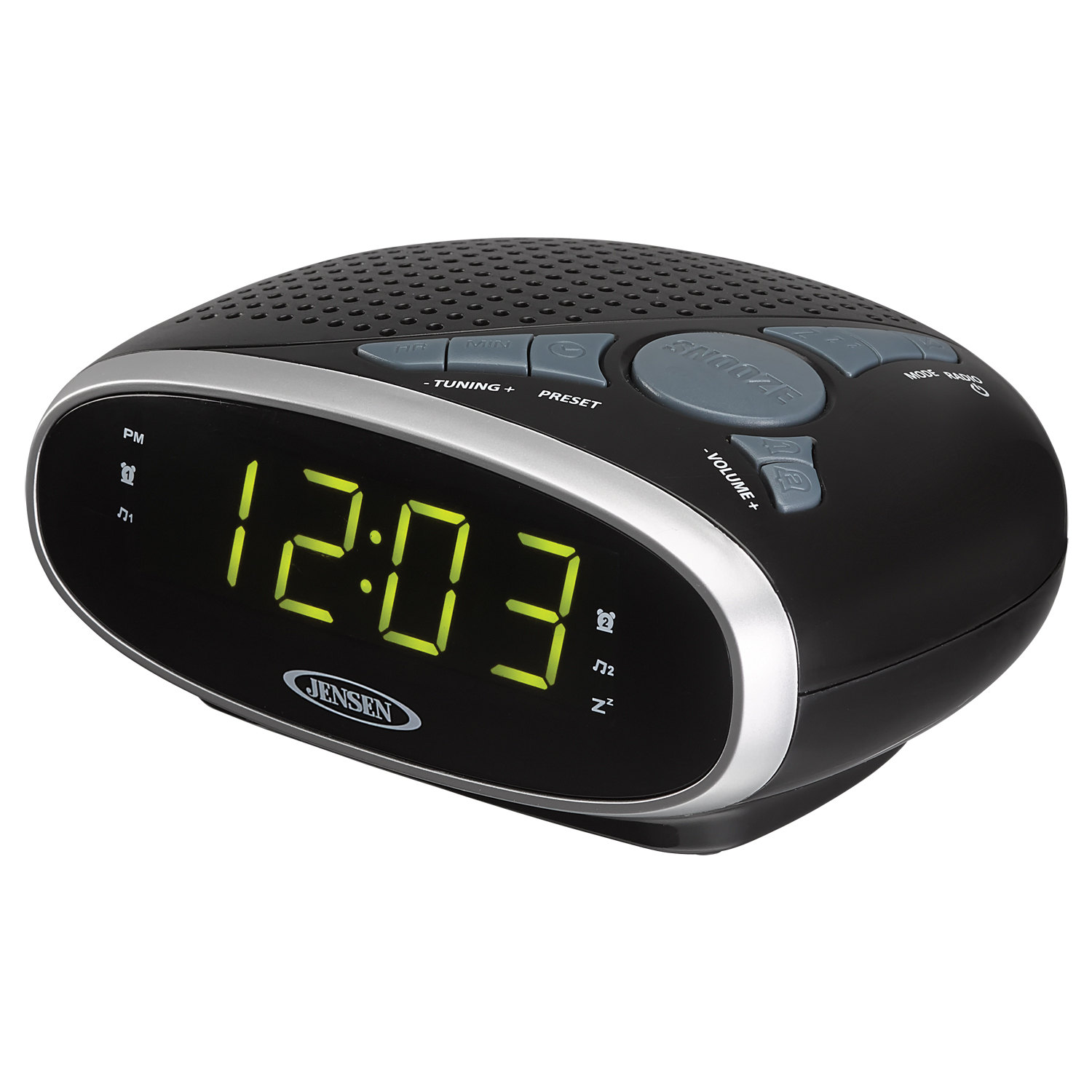 Alarm Clocks Target Jensen Digital Alarm Clock Radio Manual Jensen Am Fm