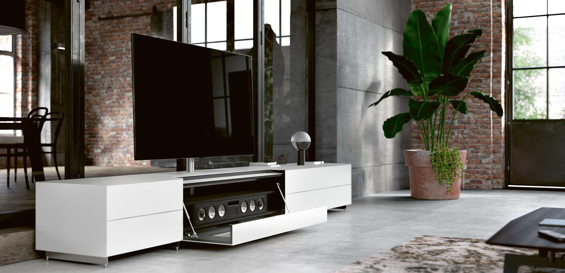 spectral sound spectral audio mobel gmbh tv mobel center lautsprecher chic mobel lowboard preisvergleich