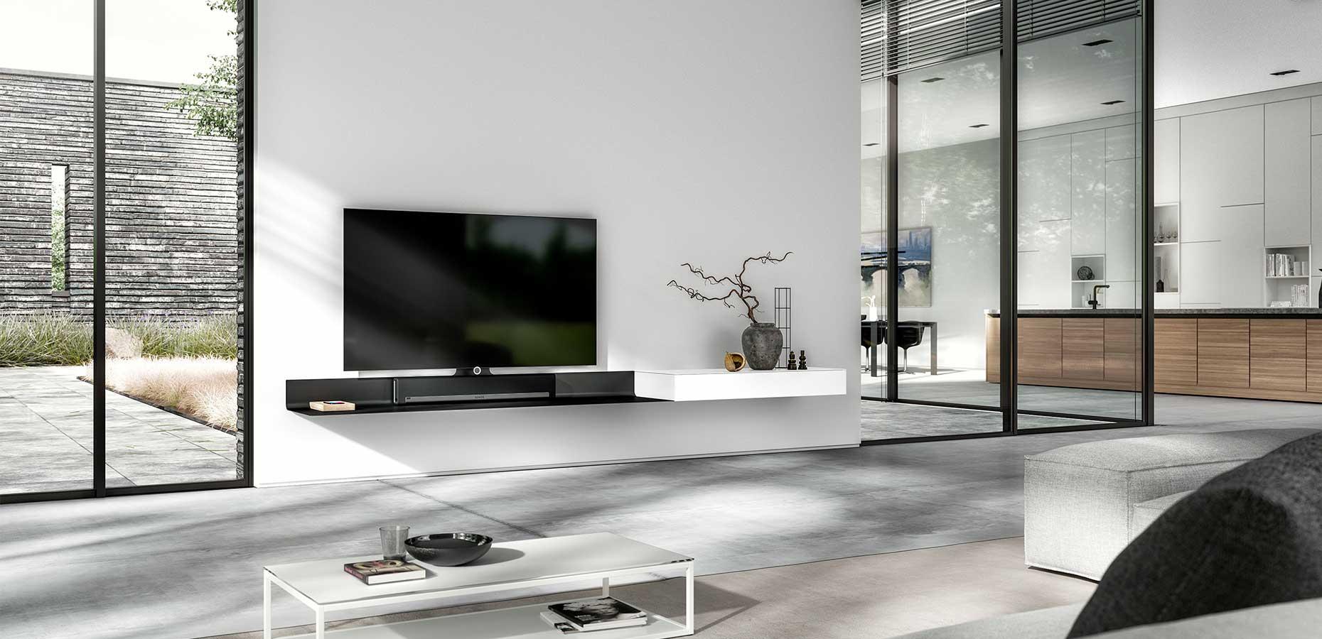 Fernseher Mobel Tv Regale Und Andere Regale Von Sonorous Online