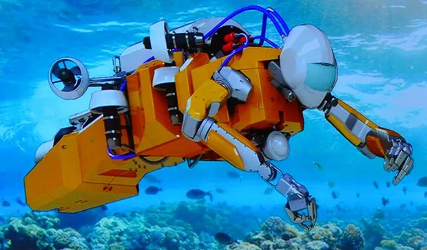 Stanford39s Humanoid Diving Robot Takes On Undersea