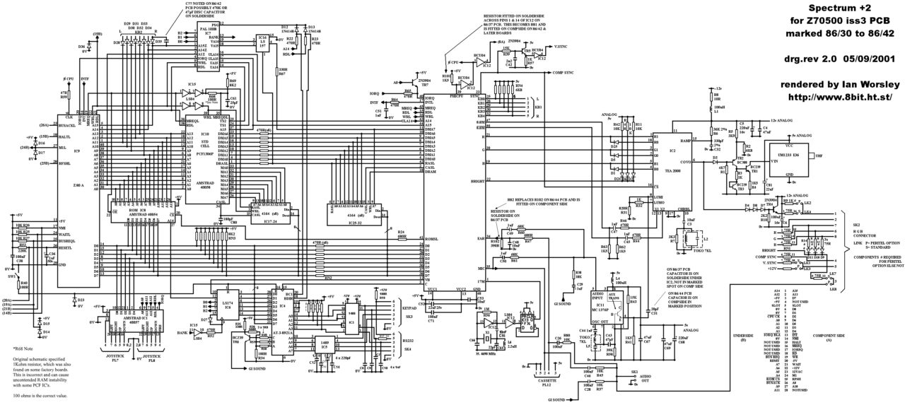 pcb and schematics