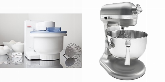 Cuisinart Vs Kitchenaid Mixer Bosch Compact Mixer Vs Kitchenaid Professional | Speczoom
