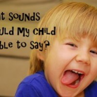 What speech sounds should my child be able to say?