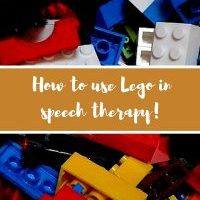 How to use Lego in speech therapy