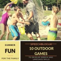 10 outdoor games to develop speech and language skills