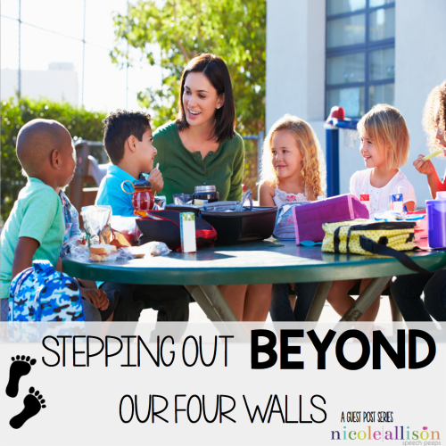 Stepping Out Beyond Our Four Walls {The Speech Place}