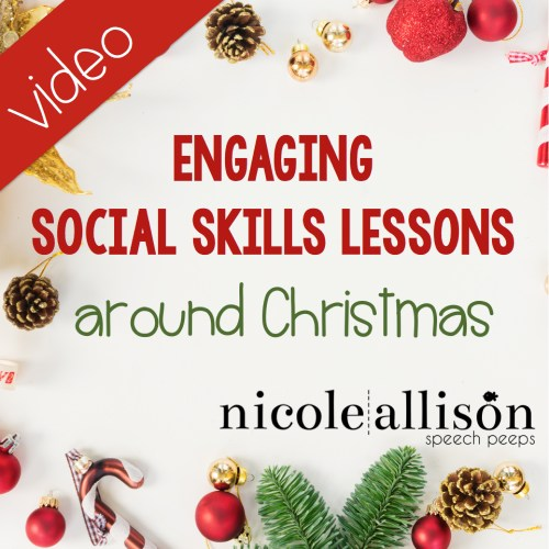 Engaging Social Skills Activities Around Christmas