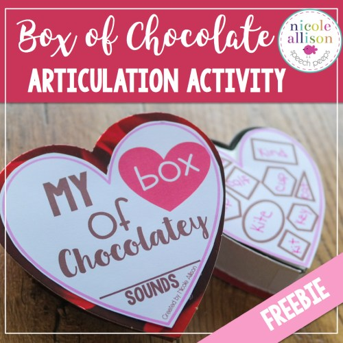 Box of Chocolates {Valentine Freebie}