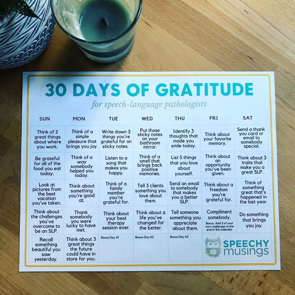gratitude template