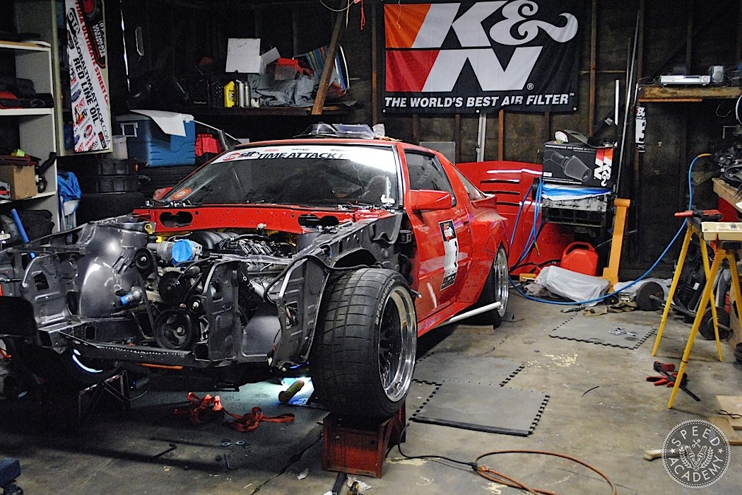 John Lazorack\u0027s Chrysler Conquest 2015 Starts With A LS3 Swap