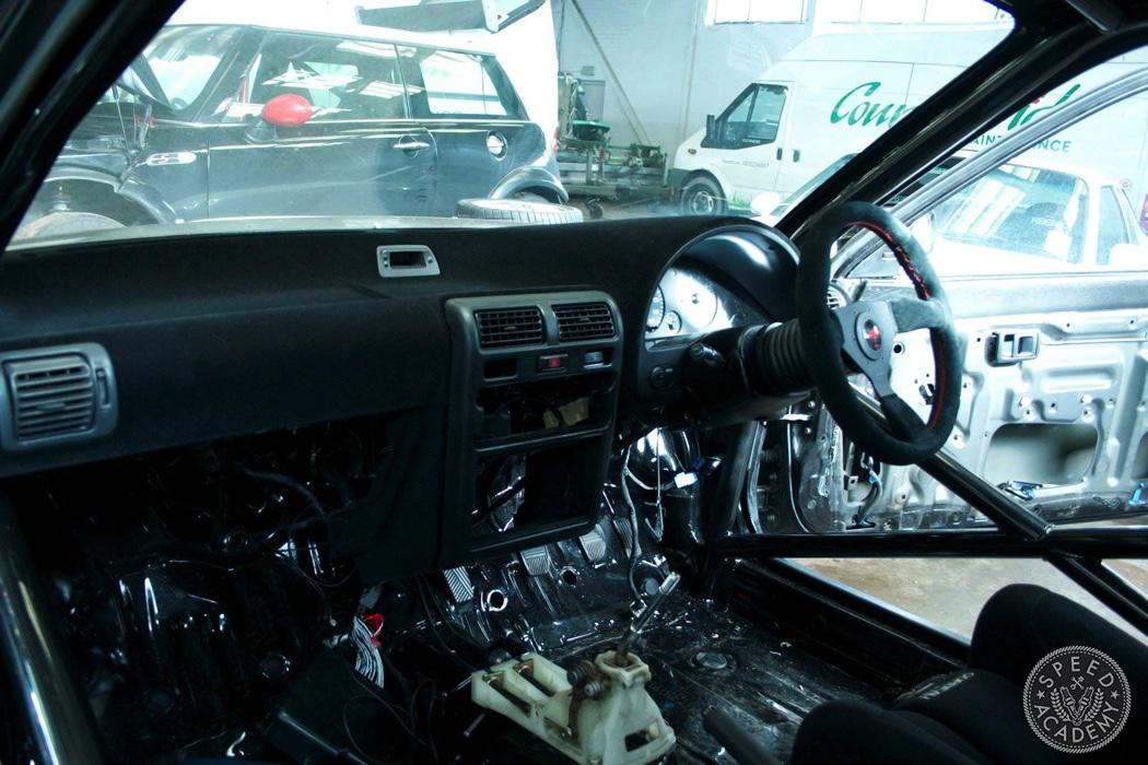 Toyota Starlet Race Car Build Part 2 Adding Lightness  Safety