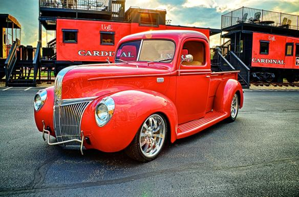 Larry Burchett's 1941 Ford Pickup Build #9