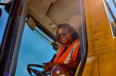 Monique Jones Operating Engineer Local 150